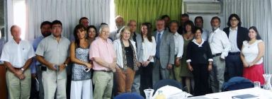Reunión con ministro Pacheco.